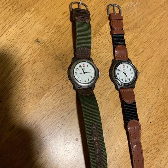 Victorinox Other - Swiss Army Watch Bundle Pair!